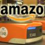 Entrepôt robotisé d'Amazon